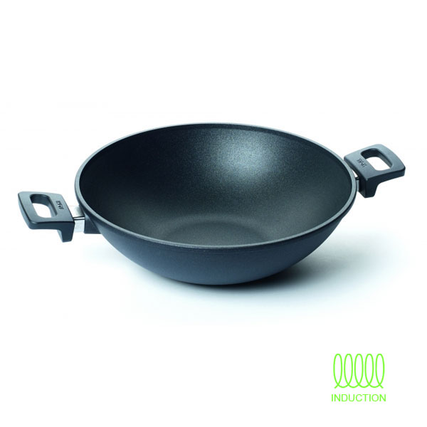 Wok 32cm Titanium Nowo Induction