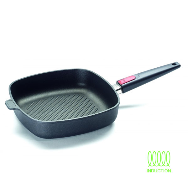 Sarten-parrilla 28x28cm Titanium Nowo Induction