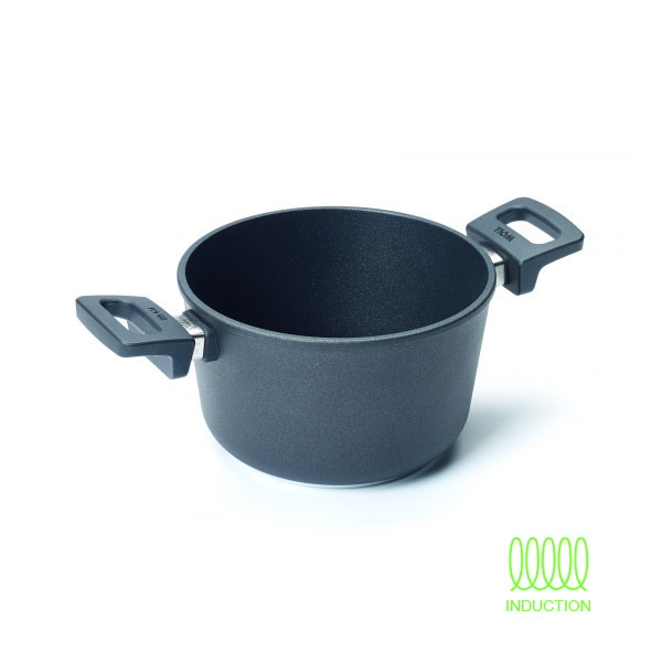 Olla baja 20 cm Titanium Nowo Induction
